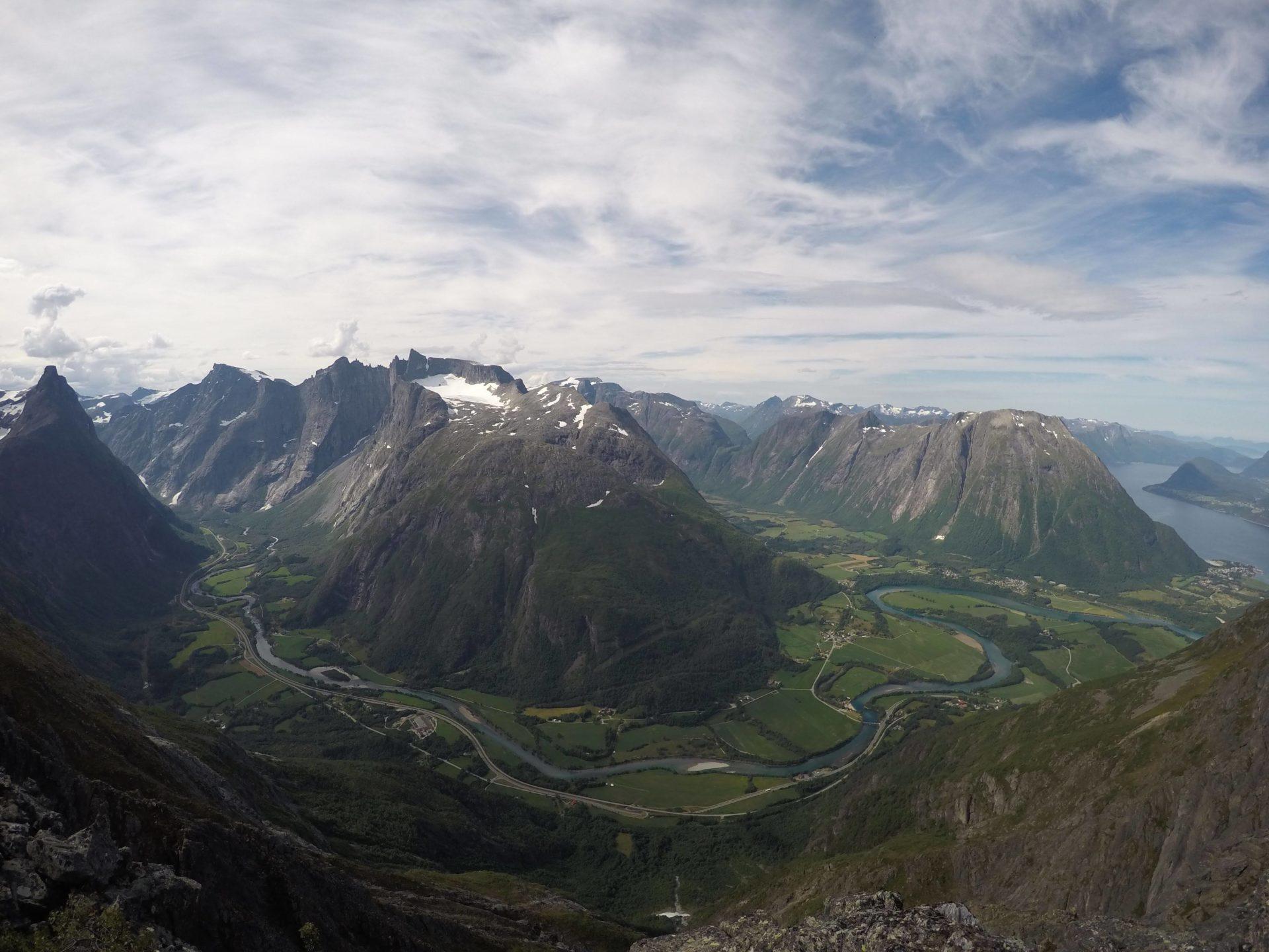 Tur til Romsdalseggen 19.-21.jul