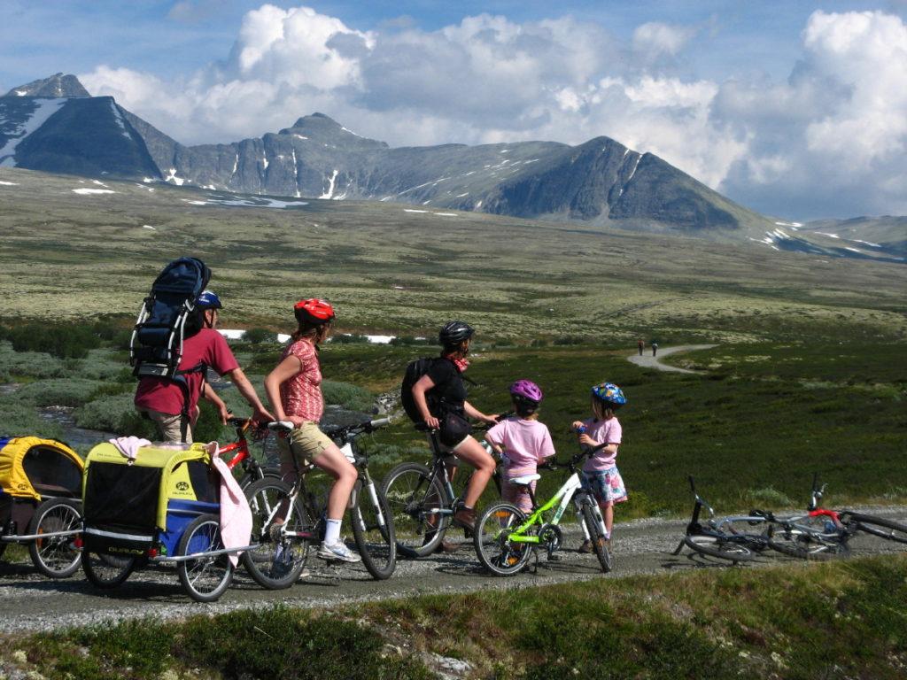 Sykkeltur i Rondane