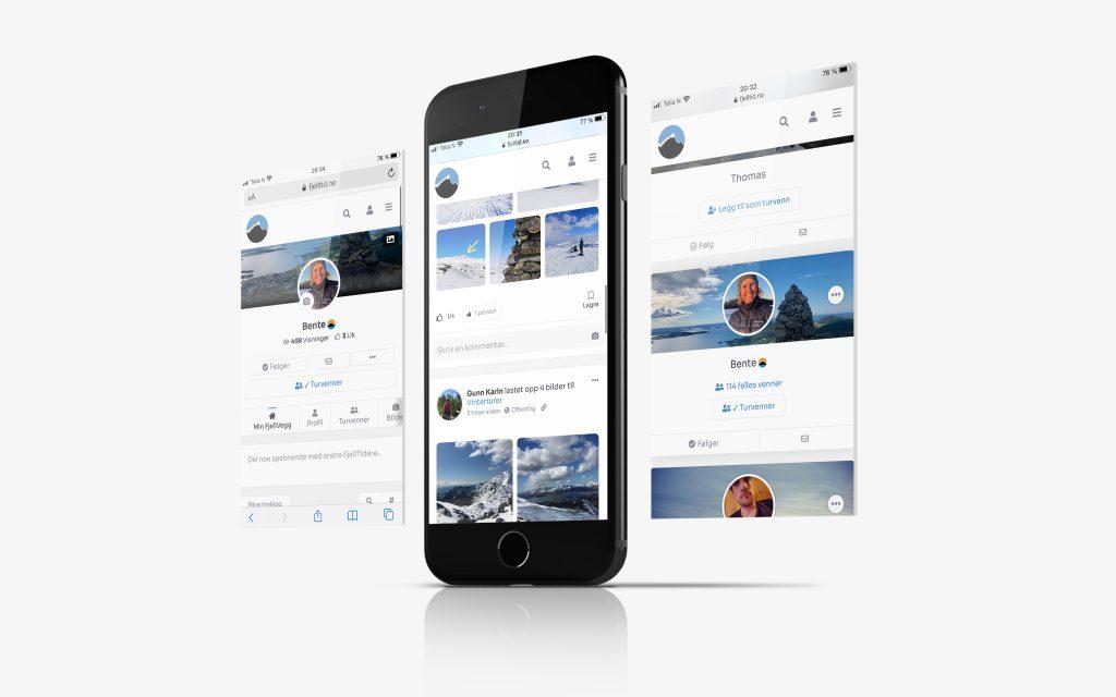 FjellTids WEB-app